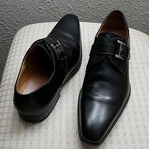 MAGNANNI Shoes, black 9.5  M gently worn, elegant
